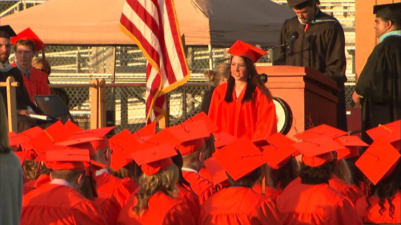 Rachel Sweet graduated Tuesday night from Lincoln Way West High School in New Lenox.