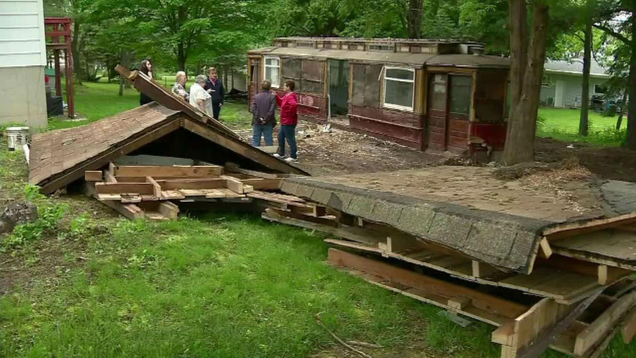 Photos Century Old Trolley Found In Wisconsin Back Yard