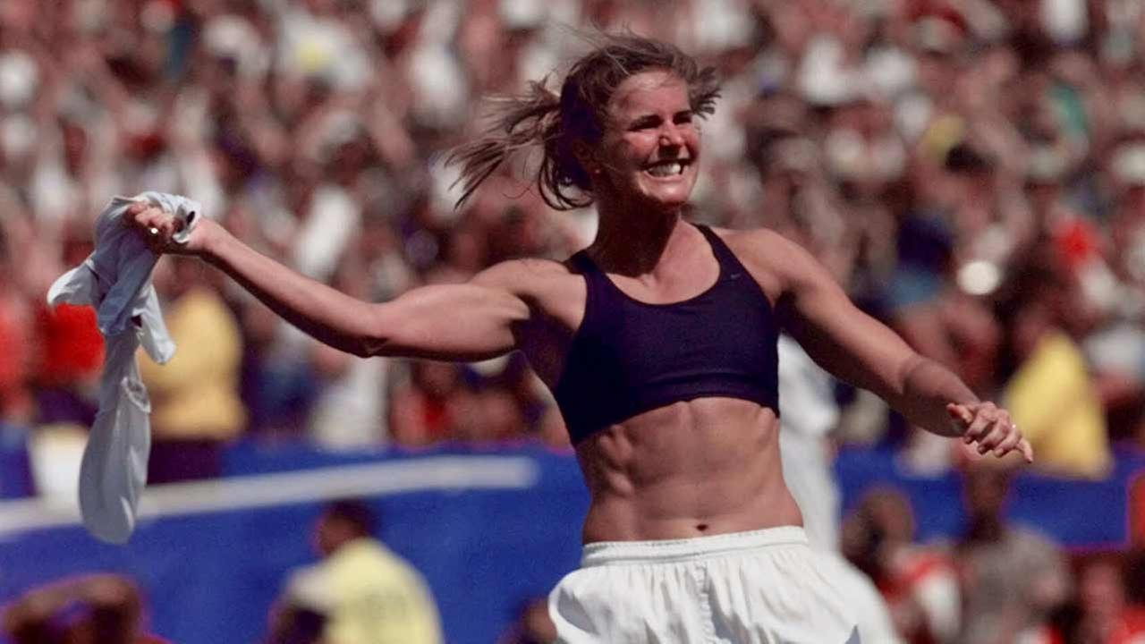 The United States last won the World Cup in 1999, prompting Brandi Chastain to famously doff her jersey in celebration.