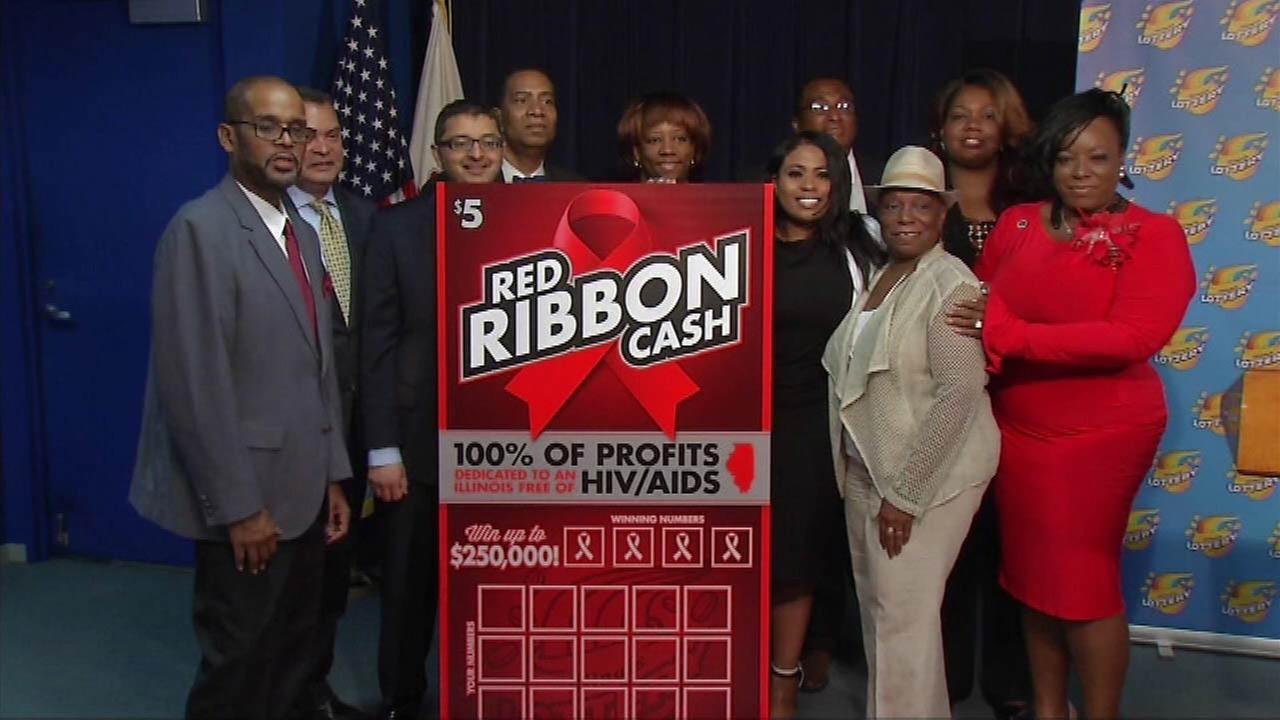 Red Ribbon Cash game lottery fundraises for HIV/AIDS