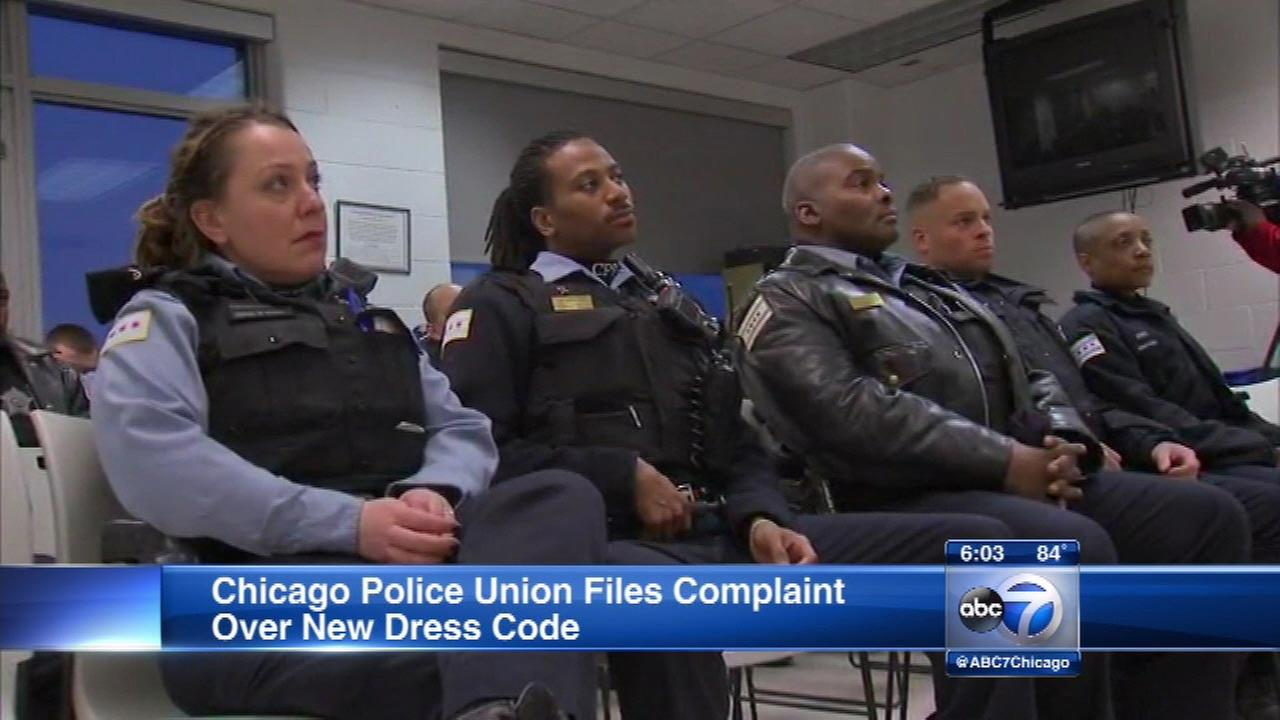 chicago police uniform