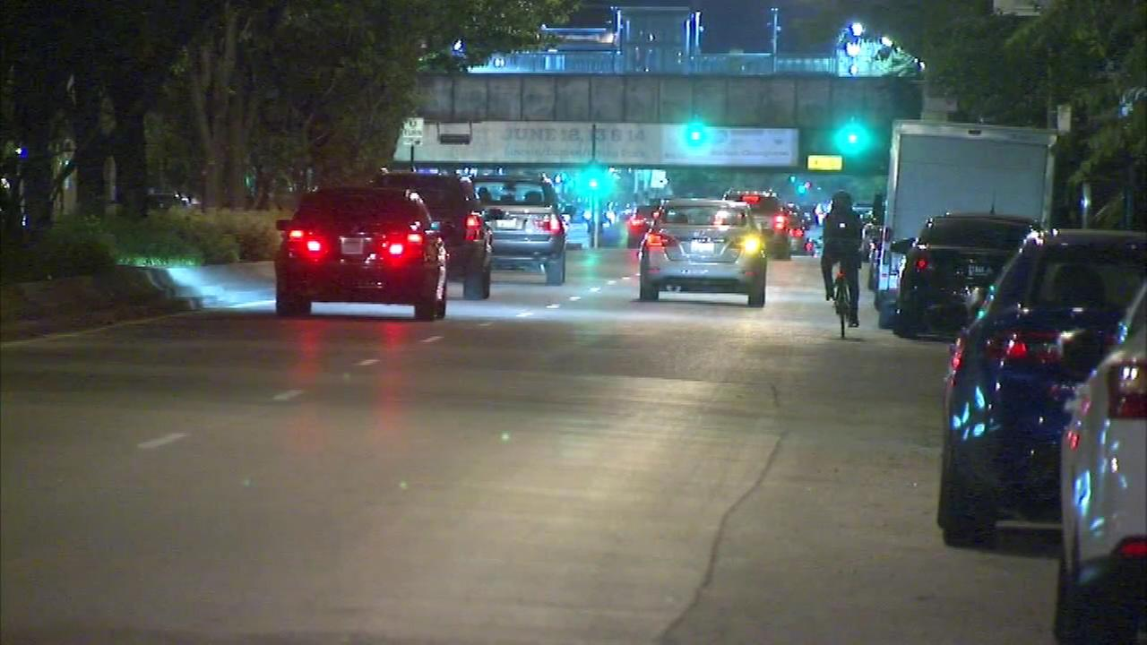 A man was shot along the Gay Pride Parade route in the citys Lakeview neighborhood Saturday night.