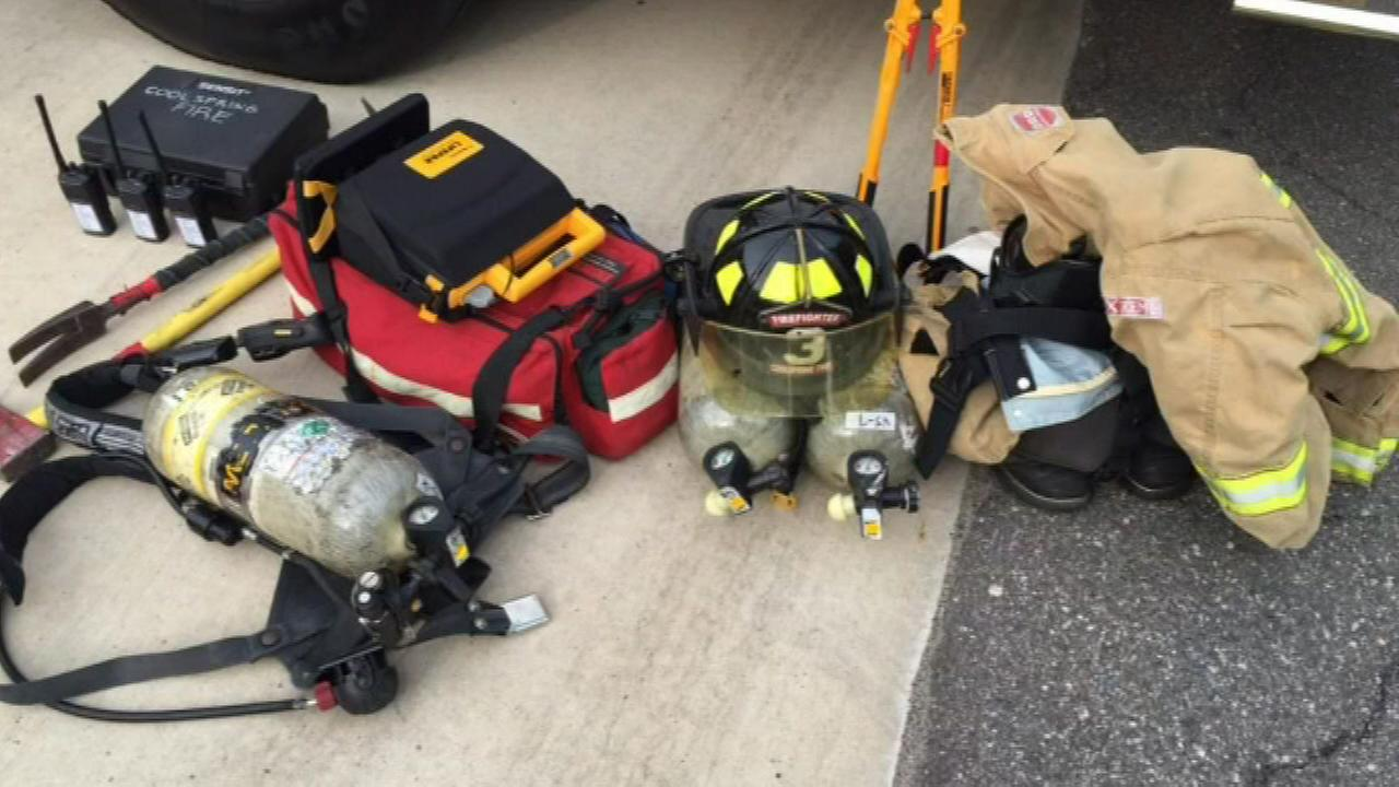 Burglars stole $14,000 in lifesaving equipment from a Northwest Indiana firehouse, police said.