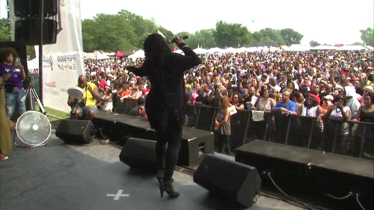 Thousands of people emjoyed house music Saturday at Jackson Park on Chicagos South Side.