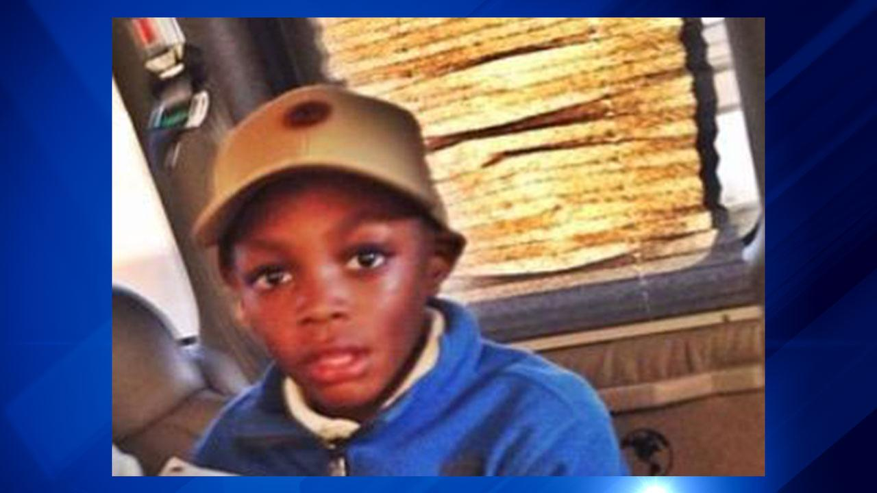 Amari Brown, 7, was shot Saturday in Humboldt Park.