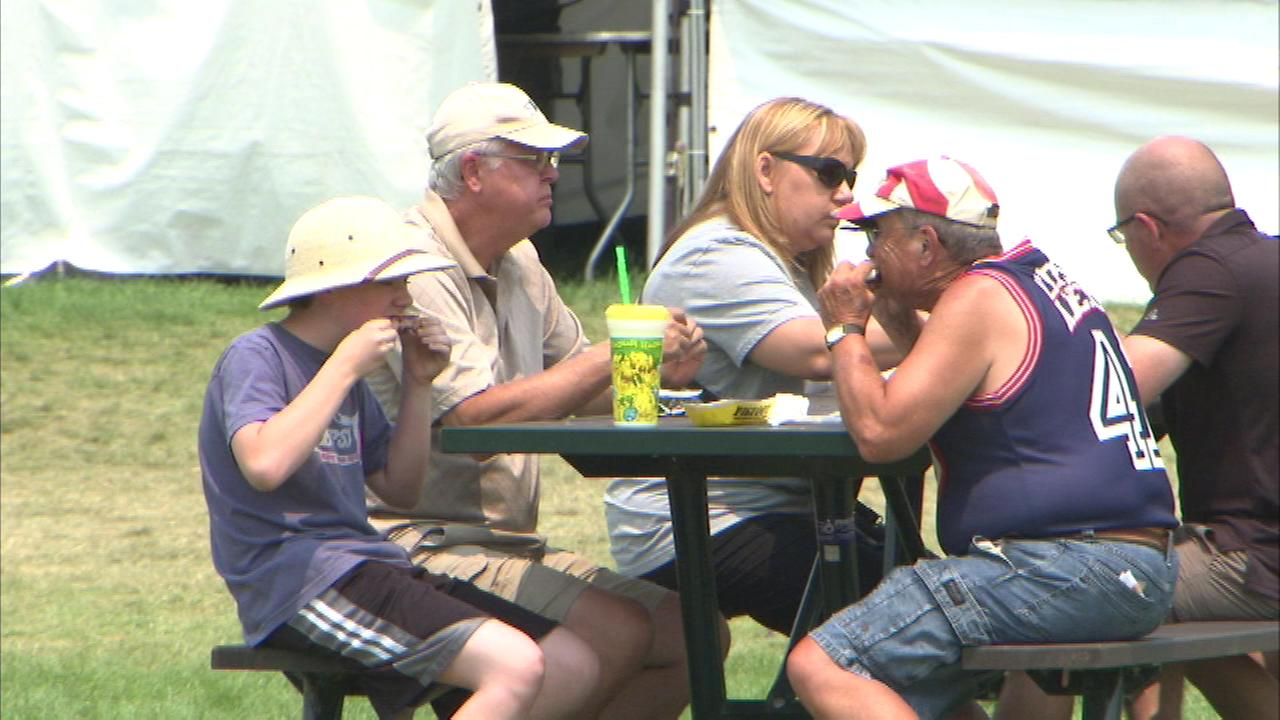Napervilles Ribfest is wrapping up its tasty run in the west suburb Sunday night.