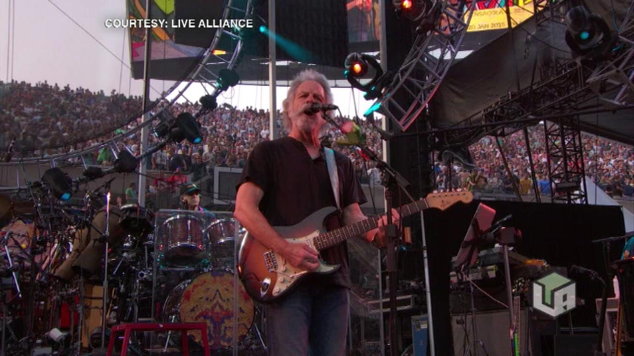 The Grateful Dead will play what they say is their final concert in Chicago Sunday night at Soldier Field.