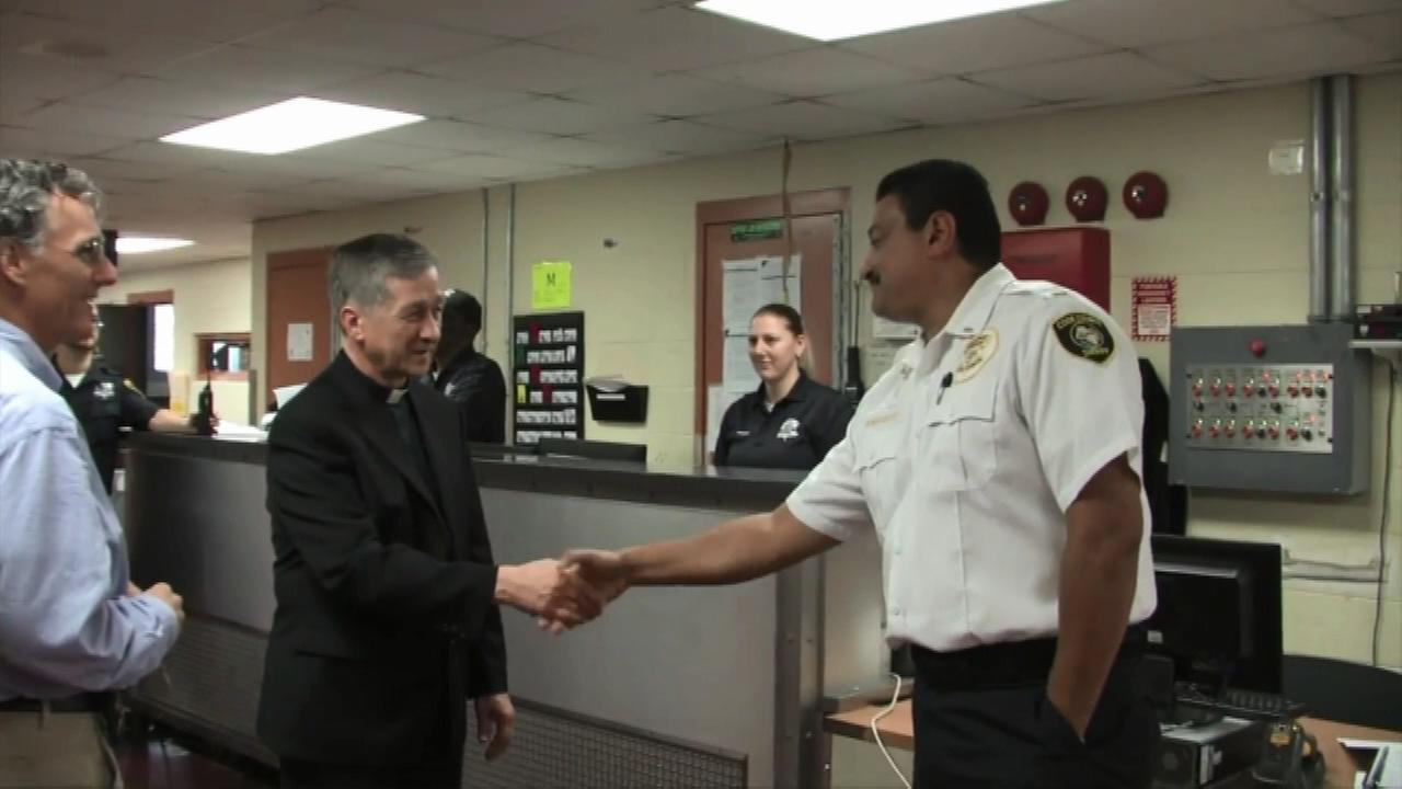 Archbishop Blase Cupich toured the Cook County Jail.