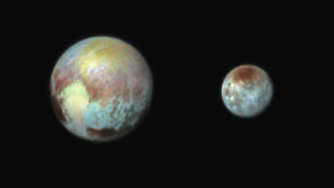 PLUTO: View from the end of the Solar SystemNASA/APL/SwRI via AP