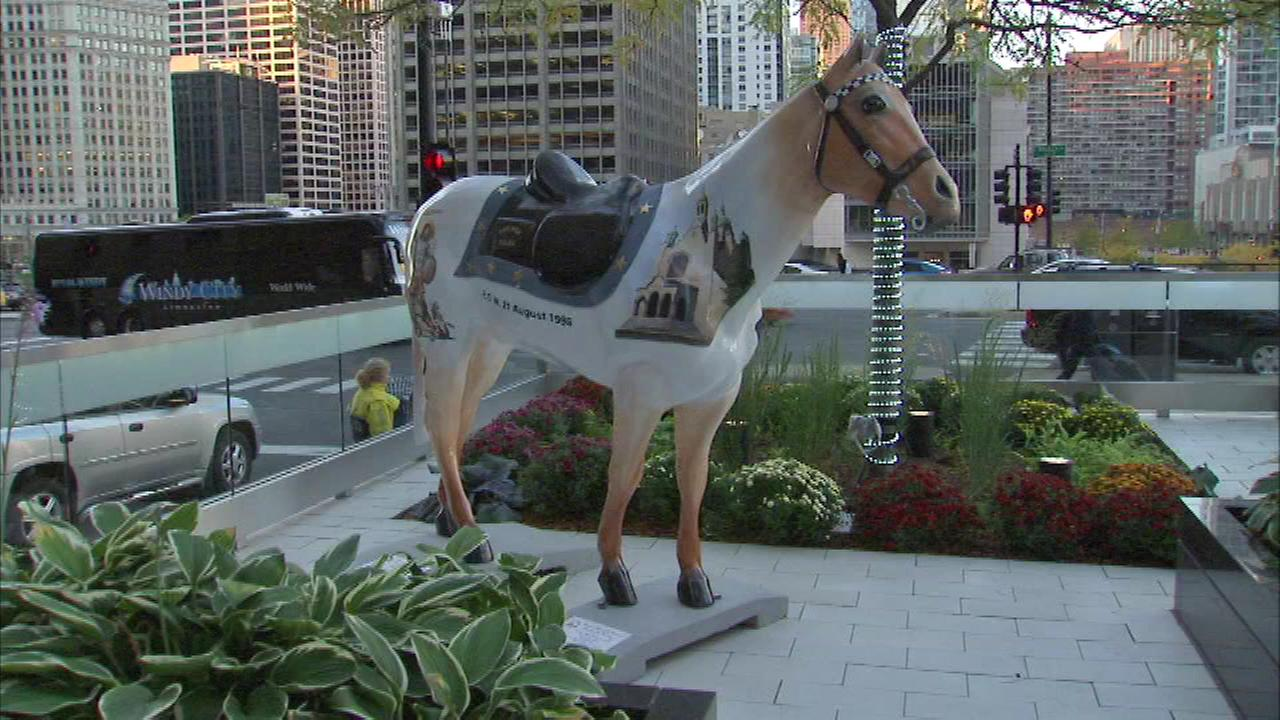 The Horses of Honor program helps the families of Chicago police officers killed or severely injured in the line of duty.