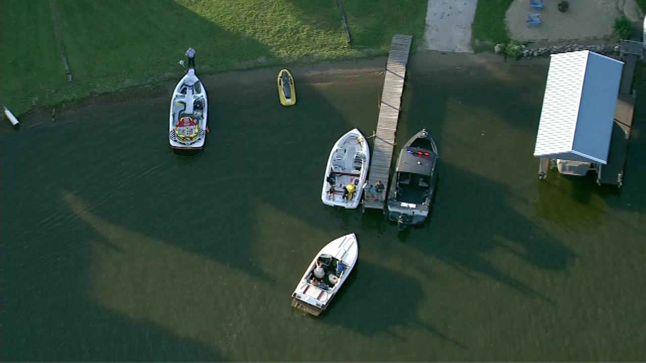 Two children and a woman taken to hospitals after a boating accident on the Fox River Friday evening.