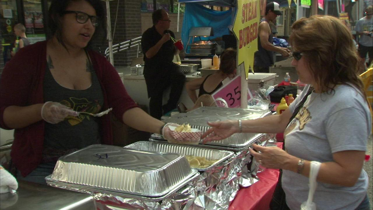 Food lovers are flocking to northwest Indiana this weekend for the 21st annual Pierogi Fest.
