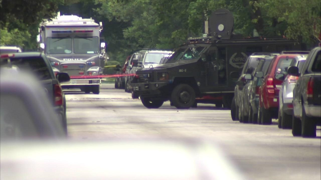 A man who barricaded himself inside a west suburban home could face charges after a standoff with police Sunday.