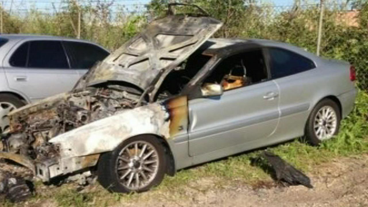 naperville car fire