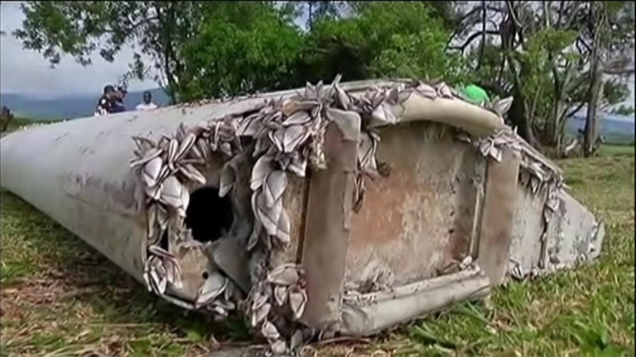 A wing flap suspected to be from the missing Malaysia Airlines Flight 370 on Saturday arrived at a French military testing facility where it will be analyzed by experts.