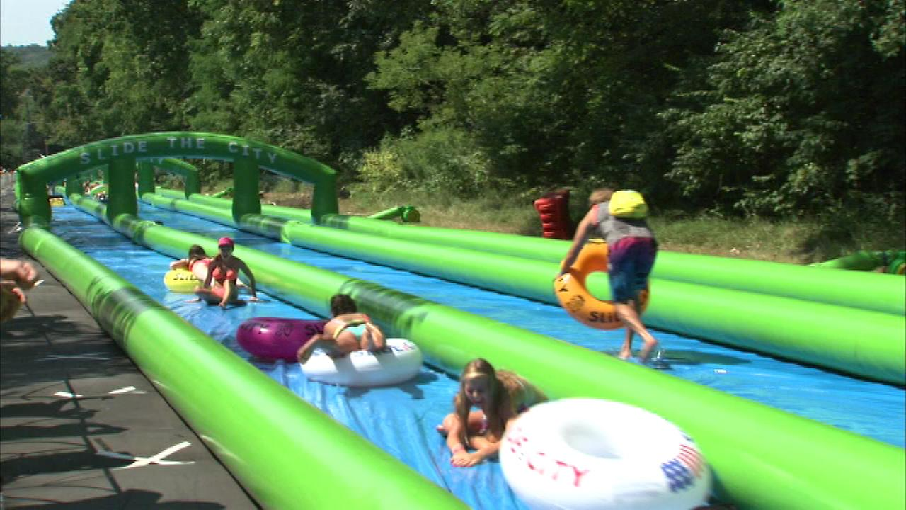 Summer fun in a hot city is causing traffic issues in the northwest suburbs.