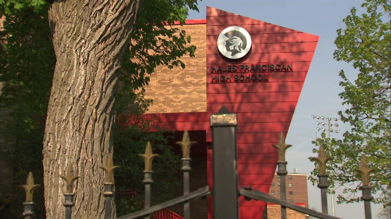 Hales Franciscan High School in the citys Bronzeville neighborhood collected enough donations to stay open for this school year.