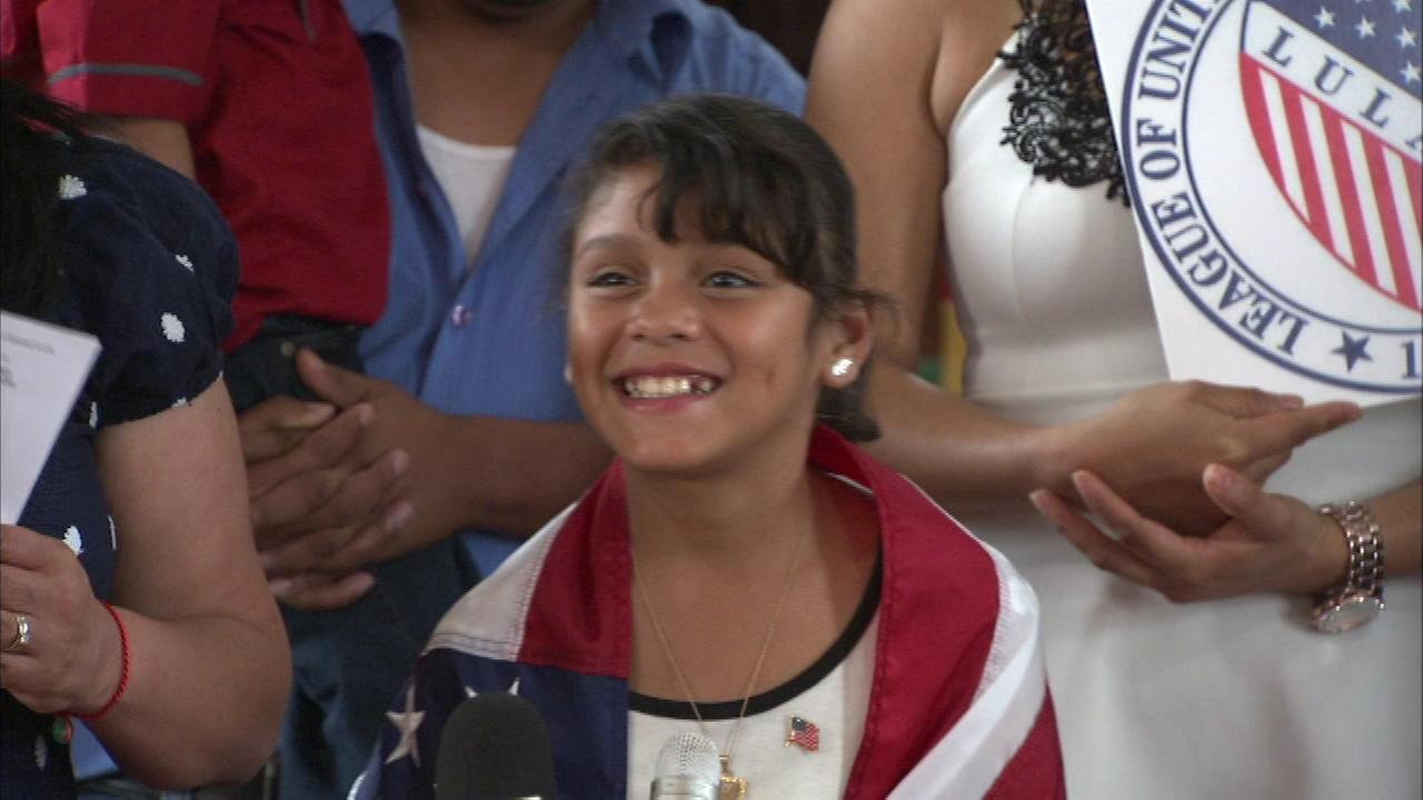 Dina Rosales escaped violence in her native Honduras and has now been granted asylum in the United States.