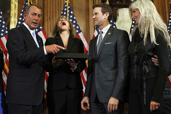 <div class='meta'><div class='origin-logo' data-origin='none'></div><span class='caption-text' data-credit='AP Photo/ Jacquelyn Martin'>House Speaker John Boehner of Ohio participates in a ceremonial House swearing-in ceremony for Rep. Aaron Schock, R-Ill., on Capitol Hill in Washington, Wednesday, Jan. 5, 2011.</span></div>