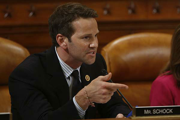 <div class='meta'><div class='origin-logo' data-origin='none'></div><span class='caption-text' data-credit='AP Photo/ Charles Dharapak'>Rep. Aaron Schock, R-Ill., questions organizations that say they were unfairly targeted by the IRS at a hearing on Capitol Hill in Washington, Tuesday, June 4, 2013.</span></div>