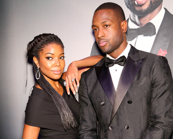 <div class='meta'><div class='origin-logo' data-origin='AP'></div><span class='caption-text' data-credit='Omar Vega/Invision/AP'>Gabrielle Union and Dwyane Wade arrive during the RunWade Fashion Show on Saturday, Nov. 14, 2015 in Miami, Fla.</span></div>