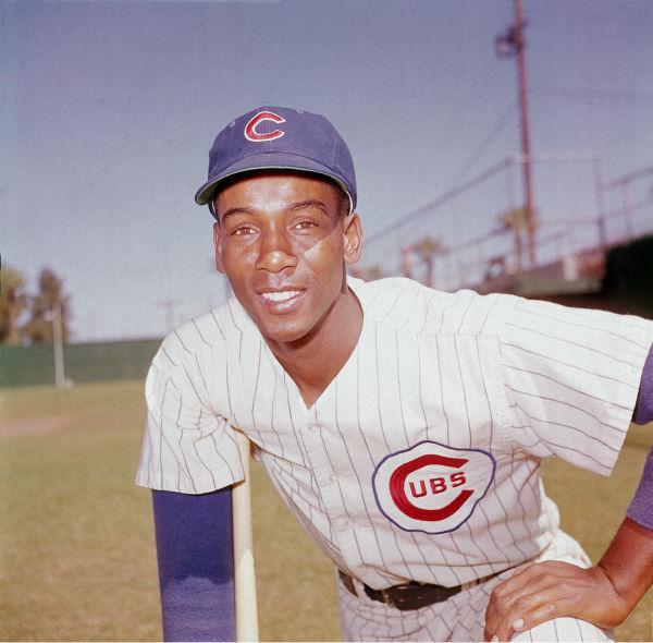 <div class='meta'><div class='origin-logo' data-origin='none'></div><span class='caption-text' data-credit='AP Photo/ XNBG'>Ernie Banks, infielder for the Chicago Cubs, poses in 1970.  (AP Photo)</span></div>