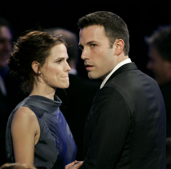 <div class='meta'><div class='origin-logo' data-origin='none'></div><span class='caption-text' data-credit='AP Photo/ Kevork Djansezian'>Jennifer Garner, left, and Ben Affleck during the 12th annual Critics' Choice Awards on Friday, Jan. 12, 2007 in Santa Monica, Calif. (AP Photo/Kevork Djansezian)</span></div>
