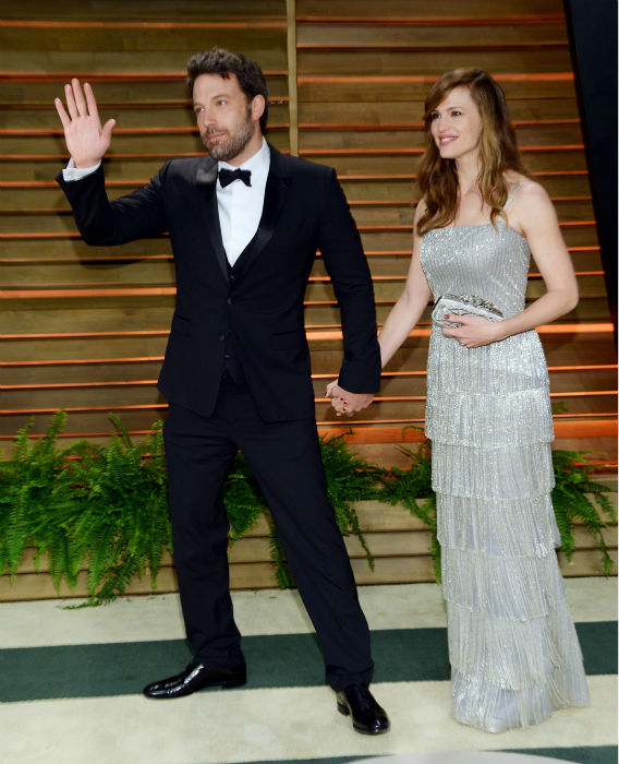 <div class='meta'><div class='origin-logo' data-origin='none'></div><span class='caption-text' data-credit='Photo/Evan Agostini'>Ben Affleck and wife Jennifer Garner attends the 2014 Vanity Fair Oscar Party on Sunday, March 2, 2014, in West Hollywood, Calif. (Photo by Evan Agostini/Invision/AP)</span></div>