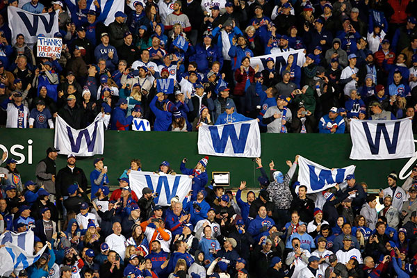 <div class='meta'><div class='origin-logo' data-origin='none'></div><span class='caption-text' data-credit='AP Photo/Nam Y. Huh'>Chicago Cubs fans cheer after Game 5.</span></div>