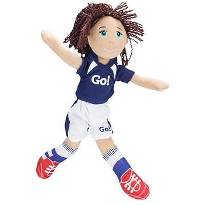 <div class='meta'><div class='origin-logo' data-origin='none'></div><span class='caption-text' data-credit=''>Go! Go! Sports Girls are a collection of plush, sports-themed dolls for girls ages 3 to 12.  They promote girl power and healthy and mindful living for all young girls.</span></div>