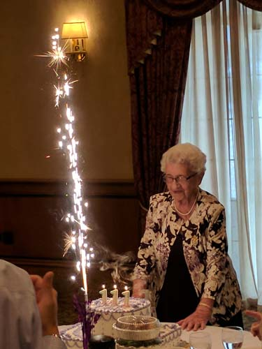 "<div class=""meta image-caption""><div class=""origin-logo origin-image wls""><span>WLS</span></div><span class=""caption-text"">Louise Schaaf celebrated her 111th birthday surrounded by friends and family at Coletti's on Chicago's Northwest Side.</span></div>"