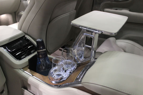 "<div class=""meta image-caption""><div class=""origin-logo origin-image wls""><span>WLS</span></div><span class=""caption-text"">Refrigerator with bottle and glass holders inside the 2017 Volvo XC90 on display at the Concept and Technology Garage event at the 2017 Chicago Auto Show on Feb. 8, 2017.</span></div>"