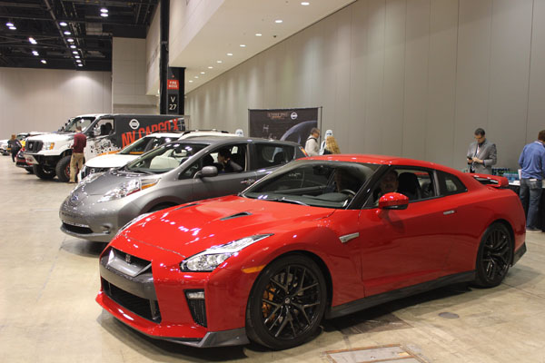 <div class='meta'><div class='origin-logo' data-origin='WLS'></div><span class='caption-text' data-credit=''>The 2017 Nissan GTR (front) on display at the Concept and Technology Garage event at the 2017 Chicago Auto Show on Feb. 8, 2017.</span></div>