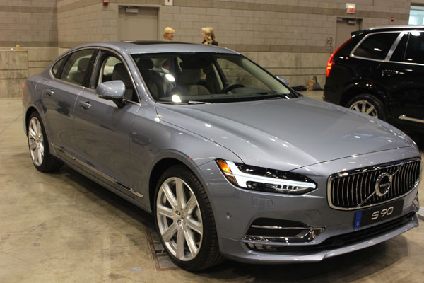<div class='meta'><div class='origin-logo' data-origin='WLS'></div><span class='caption-text' data-credit=''>Front view of the 2017 Volvo S90 at the Concept and Technology Garage event at the 2017 Chicago Auto Show on Feb. 8, 2017.</span></div>