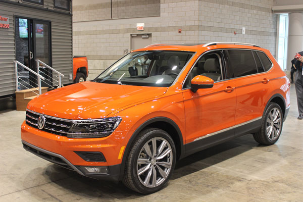 <div class='meta'><div class='origin-logo' data-origin='WLS'></div><span class='caption-text' data-credit=''>The all-new 2018 Volkswagen Tiguan debuts at the Concept and Technology Garage event at the 2017 Chicago Auto Show on Feb. 8, 2017.</span></div>