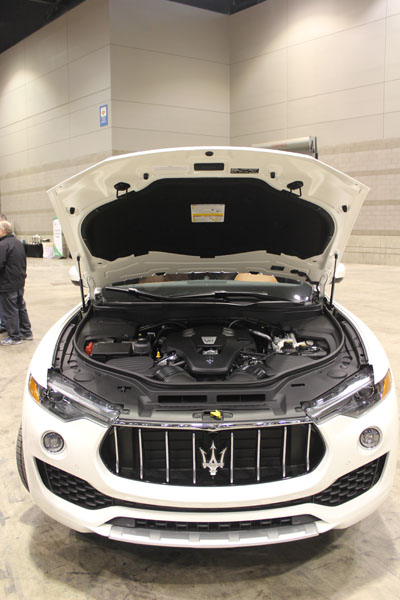 <div class='meta'><div class='origin-logo' data-origin='WLS'></div><span class='caption-text' data-credit=''>Under the hood of the all-new 2017 Maserati Levante at the Concept and Technology Garage event at the 2017 Chicago Auto Show on Feb. 8, 2017.</span></div>