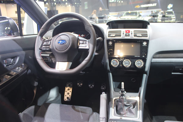<div class='meta'><div class='origin-logo' data-origin='WLS'></div><span class='caption-text' data-credit=''>Interior view of the 2017 Subaru Impreza on display at the 2017 Chicago Auto Show on Feb. 9, 2017.</span></div>