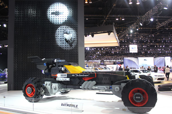 <div class='meta'><div class='origin-logo' data-origin='WLS'></div><span class='caption-text' data-credit=''>The Chevrolet Lego Batmobile concept on display at the 2017 Chicago Auto Show on Feb. 9, 2017.</span></div>