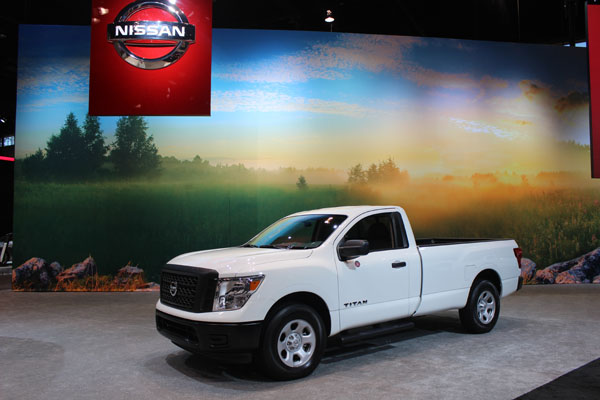 <div class='meta'><div class='origin-logo' data-origin='WLS'></div><span class='caption-text' data-credit=''>The 2017 Nissan Titan on display at the 2017 Chicago Auto Show on Feb. 9, 2017.</span></div>