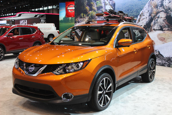 "<div class=""meta image-caption""><div class=""origin-logo origin-image wls""><span>WLS</span></div><span class=""caption-text"">The 2017 Nissan Rogue Sport on display at the 2017 Chicago Auto Show on Feb. 9, 2017.</span></div>"