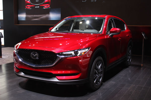 "<div class=""meta image-caption""><div class=""origin-logo origin-image wls""><span>WLS</span></div><span class=""caption-text"">The 2017 Mazda CX-5 on display at the 2017 Chicago Auto Show on Feb. 9, 2017.</span></div>"
