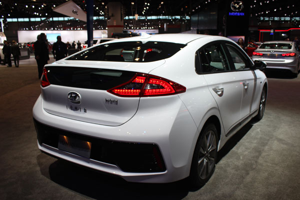<div class='meta'><div class='origin-logo' data-origin='WLS'></div><span class='caption-text' data-credit=''>Rear view of the 2017 Hyundai Ioniq on display at the 2017 Chicago Auto Show on Feb. 9, 2017.</span></div>