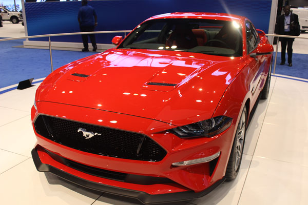 "<div class=""meta image-caption""><div class=""origin-logo origin-image wls""><span>WLS</span></div><span class=""caption-text"">The 2018 Ford Mustang on display at the 2017 Chicago Auto Show on Feb. 9, 2017.</span></div>"