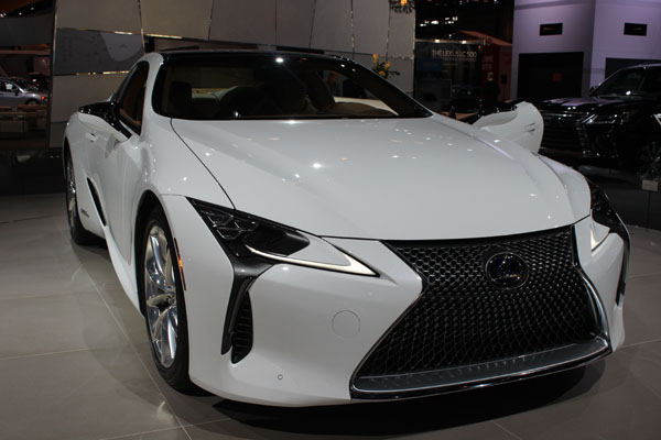 "<div class=""meta image-caption""><div class=""origin-logo origin-image wls""><span>WLS</span></div><span class=""caption-text"">The 2018 Lexus LC500h on display at the 2017 Chicago Auto Show on Feb. 9, 2017.</span></div>"