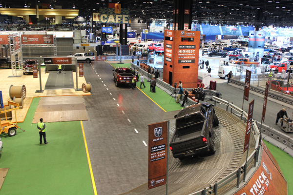 <div class='meta'><div class='origin-logo' data-origin='WLS'></div><span class='caption-text' data-credit=''>The RAM Truck Territory test track at the 2017 Chicago Auto Show on Feb. 10, 2017.</span></div>