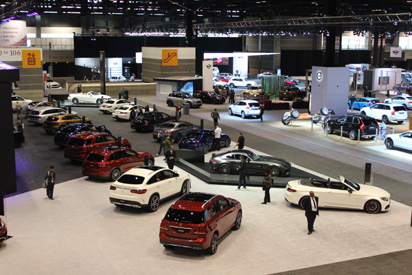 <div class='meta'><div class='origin-logo' data-origin='WLS'></div><span class='caption-text' data-credit=''>The Mercedes-Benz exhibit at the 2017 Chicago Auto Show on Feb. 10, 2017.</span></div>