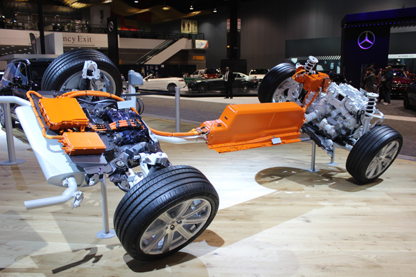 <div class='meta'><div class='origin-logo' data-origin='WLS'></div><span class='caption-text' data-credit=''>An electric motor on display at the Volvo exhibit at the 2017 Chicago Auto Show on Feb. 10, 2017.</span></div>