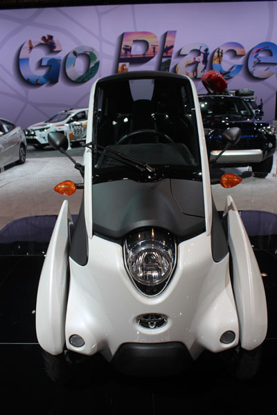 <div class='meta'><div class='origin-logo' data-origin='WLS'></div><span class='caption-text' data-credit=''>The Toyota i-Road concept - a three-wheeled, one-seat electric vehicle - on display at the 2017 Chicago Auto Show on Feb. 10, 2017.</span></div>