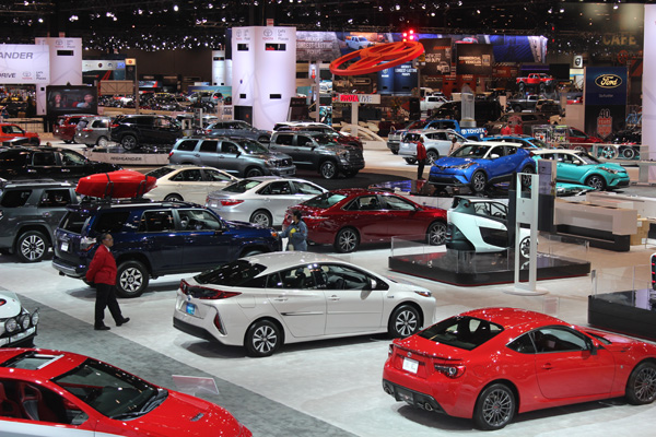 Chicago auto show 2017 what 39 s new from toyota ford Motor vehicle chicago