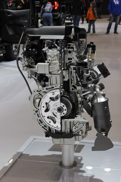 <div class='meta'><div class='origin-logo' data-origin='WLS'></div><span class='caption-text' data-credit=''>A GMC Duramax 2.8L Turbo Diesel engine on display at the 2017 Chicago Auto Show at McCormick Place on Feb. 11, 2017.</span></div>